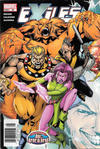 Cover for Exiles (Marvel, 2001 series) #60 [Newsstand]