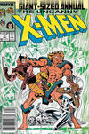 Cover for X-Men Annual (Marvel, 1970 series) #11 [Newsstand]