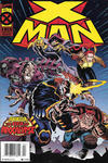 Cover for X-Man (Marvel, 1995 series) #2 [Newsstand]