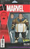 Cover for Uncanny X-Men (Marvel, 2019 series) #7 (626) [John Tyler Christopher Action Figure (Horseman Blob)]