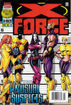 Cover for X-Force (Marvel, 1991 series) #54 [Newsstand]