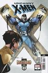 Cover for Uncanny X-Men (Marvel, 2019 series) #1 (620) [John Tyler Christopher Action Figure Black and White]