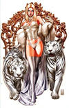 Cover Thumbnail for Uncanny X-Men (2019 series) #1 (620) [Mark Brooks Convention Exclusive 'Emma Frost' Virgin Art]