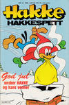 Cover for Hakke Hakkespett (Semic, 1977 series) #12/1989