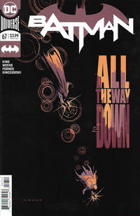 Cover for Batman (DC, 2016 series) #67 [Dave Johnson Cover]