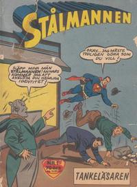 Cover Thumbnail for Stålmannen (Centerförlaget, 1949 series) #1/1962