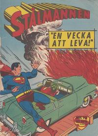 Cover Thumbnail for Stålmannen (Centerförlaget, 1949 series) #10/1962