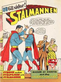 Cover Thumbnail for Stålmannen (Centerförlaget, 1949 series) #5/1963
