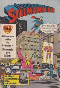 Cover Thumbnail for Stålmannen (Centerförlaget, 1949 series) #13/1963