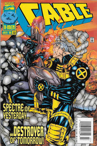Cover Thumbnail for Cable (Marvel, 1993 series) #33 [Newsstand]