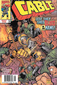 Cover Thumbnail for Cable (Marvel, 1993 series) #58 [Newsstand]