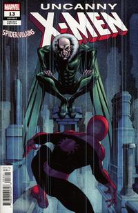 Cover Thumbnail for Uncanny X-Men (Marvel, 2019 series) #13 (632) [Mike McKone 'Spider-Man Villains' Cover]