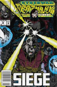 Cover Thumbnail for Deathlok (Marvel, 1991 series) #19 [Newsstand]