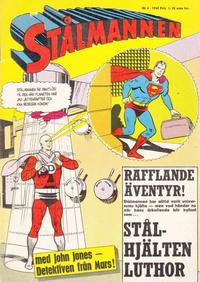 Cover Thumbnail for Stålmannen (Centerförlaget, 1949 series) #6/1964