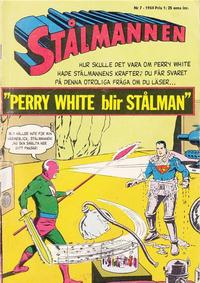 Cover Thumbnail for Stålmannen (Centerförlaget, 1949 series) #7/1964