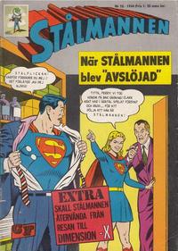 Cover Thumbnail for Stålmannen (Centerförlaget, 1949 series) #10/1964