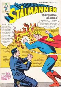 Cover Thumbnail for Stålmannen (Centerförlaget, 1949 series) #13/1964