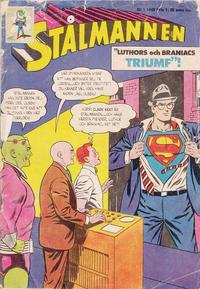 Cover Thumbnail for Stålmannen (Centerförlaget, 1949 series) #1/1965