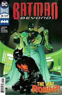 Cover Thumbnail for Batman Beyond (DC, 2016 series) #29