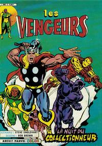 Cover Thumbnail for Les Vengeurs (Arédit-Artima, 1984 series) #3