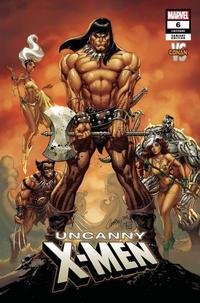 Cover Thumbnail for Uncanny X-Men (Marvel, 2019 series) #6 (625) [J. Scott Campbell 'Conan Vs']