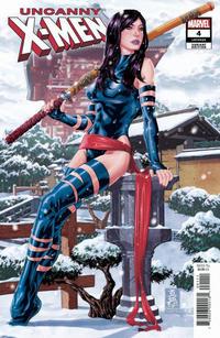 Cover Thumbnail for Uncanny X-Men (Marvel, 2019 series) #4 (623) [Mark Brooks 'Hidden Gem']