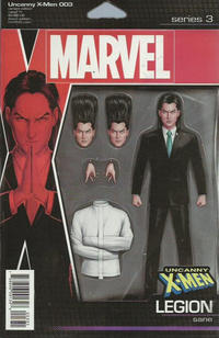 Cover Thumbnail for Uncanny X-Men (Marvel, 2019 series) #3 (622) [John Tyler Christopher Action Figure (Legion)]