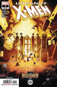 Cover Thumbnail for Uncanny X-Men (Marvel, 2019 series) #3 (622) [Second Printing]