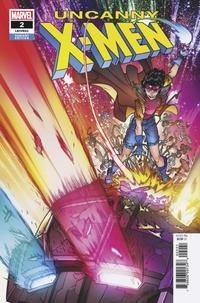 Cover Thumbnail for Uncanny X-Men (Marvel, 2019 series) #2 (621) [Javier Garrón]