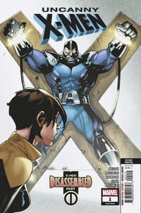 Cover Thumbnail for Uncanny X-Men (Marvel, 2019 series) #1 (620) [Second Printing - Mahmud Asrar]