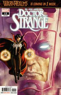 Cover Thumbnail for Doctor Strange (Marvel, 2018 series) #12