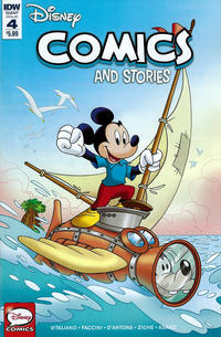 Cover Thumbnail for Disney Comics and Stories (IDW, 2018 series) #4 / 747