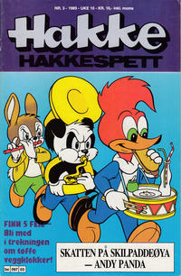 Cover Thumbnail for Hakke Hakkespett (Semic, 1977 series) #3/1989
