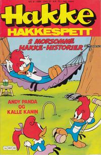 Cover Thumbnail for Hakke Hakkespett (Semic, 1977 series) #9/1989