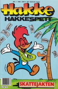 Cover for Hakke Hakkespett (Semic, 1977 series) #1/1990