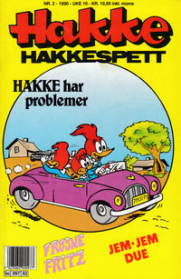 Cover Thumbnail for Hakke Hakkespett (Semic, 1977 series) #2/1990