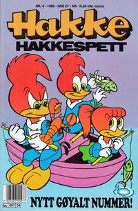 Cover Thumbnail for Hakke Hakkespett (Semic, 1977 series) #4/1990