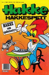 Cover Thumbnail for Hakke Hakkespett (Semic, 1977 series) #6/1990