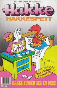 Cover Thumbnail for Hakke Hakkespett (Semic, 1977 series) #2/1991