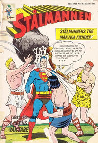 Cover Thumbnail for Stålmannen (Centerförlaget, 1949 series) #6/1965