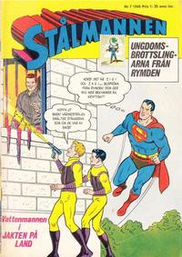 Cover Thumbnail for Stålmannen (Centerförlaget, 1949 series) #7/1965