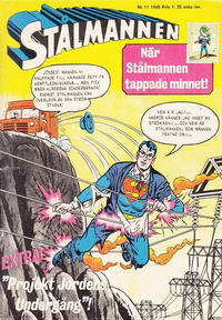 Cover Thumbnail for Stålmannen (Centerförlaget, 1949 series) #11/1965
