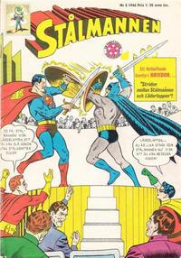 Cover Thumbnail for Stålmannen (Centerförlaget, 1949 series) #5/1966