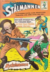 Cover Thumbnail for Stålmannen (Centerförlaget, 1949 series) #9/1966