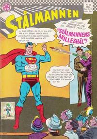 Cover Thumbnail for Stålmannen (Centerförlaget, 1949 series) #13/1966