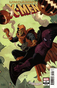 Cover Thumbnail for Uncanny X-Men (Marvel, 2019 series) #14 (633) [Paolo Rivera 'Spider-Man Villains' Cover]