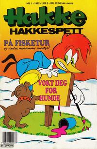 Cover Thumbnail for Hakke Hakkespett (Semic, 1977 series) #1/1992