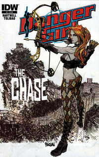 Cover Thumbnail for Danger Girl: The Chase (IDW, 2013 series) #2 [Dan Panosian Cover]