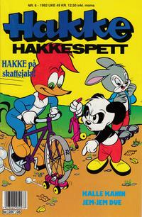 Cover Thumbnail for Hakke Hakkespett (Semic, 1977 series) #6/1992