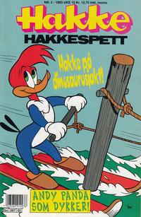 Cover for Hakke Hakkespett (Semic, 1977 series) #2/1993